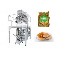 Quality Automatic Small Pouch Packing Machine For Tarts with Schneider Touch Screen Operation for sale