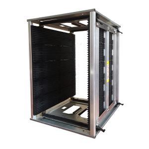 Quality Antistatic 200kg 50pcs PCB Slots ESD Magazine Rack for sale