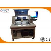 Quality High Precision Floor Style PCB Depaneling CNC PCB Router Machine With Dual Working Table for sale