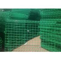 Quality Ornamental Double Loop Steel Wire Fencing / Decorative Wire Mesh Security Fencing for sale