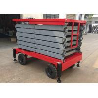 Quality 500kg Aerial Work Platform 2.2kw , Height 11 Meters Heavy Duty Lift Table for sale
