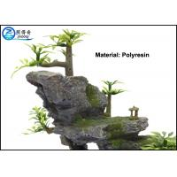 Buy Mountain Aquarium Fish Tank Resin Ornaments For Decorating With Plants at wholesale prices