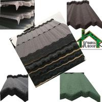 Quality Stone Chip Coated Metal Roof Tiles , Metal Roof Shingles with durable galvanized plate for sale