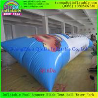 Quality Hot Sale 0.9mm Thickness PVC Tarpaulin Jumping Pillow Water Air bag Inflatable Blob for sale