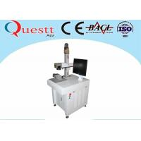 Buy cheap 10W Jewelry Laser Marking Machine , Imported Galvanometer Laser Scanner For from wholesalers