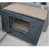 Quality Blue Pearl Solid Granite Worktops Apartment / Hotel Renovation Suit for sale