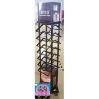 Quality Recyclable Metal Retail Display Stands , Retail Floor Display Rack for sale