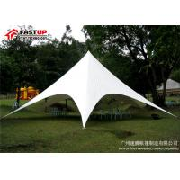Quality Aluminum Frame Star Shade Tent For Banquet Hall All Weather Available for sale