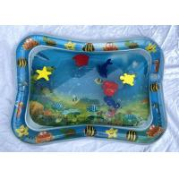 China Eco Friendly Inflatable Baby Water Mat With Marine Animal EVA Float Toys on sale