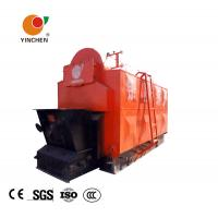 Quality Horizontal Biomass Fired Steam Boiler , Wood Fired Hot Water Boiler 1-20 T/H Rated Output for sale