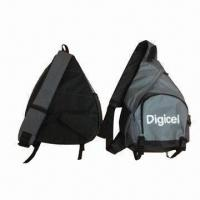 Quality Mono strap backpack, made of 600D polyester for sale