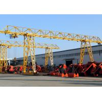 Quality 20 Ton Truss Single Girder Gantry Crane For Granite Industry / Cement Pipe Industry for sale