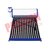 Quality White Color Vacuum Tube Solar Water Heater 150 Liter Galvanized Steel Frame for sale