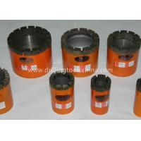 Buy cheap IMP Diamond Core Bit Geological Drilling Bits Wire-line BW NW HW PW from wholesalers