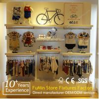 Quality Custom store freestanding sided shop furniture garment display for sale