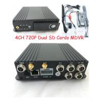 Quality 4 Channels GPS dual sd card 3G sim card Car Mobile DVR  for vehicles for sale