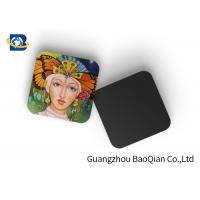 Quality Square Wine Tea Cup Custom Printed Coasters 3D Lenticular Printing Service for sale