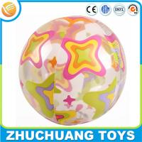 Quality large inflatable transparent cheap beach balls for sale