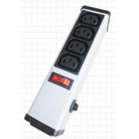 Quality 4 Outlets PDU Power Strip and Switch with Circuit Breaker , Smart Multi Plug Extension Cord for sale