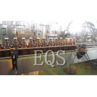 Quality Glass / SUS Beer Bottle Filling Equipment 1500BPH with Touch Screen / Inverters for sale