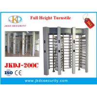 Quality Factory price access control full height turnstile bi-direction gate/boom barrier for sale