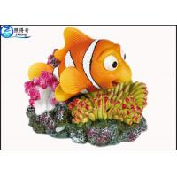 Quality Air Operated Resin Fish Tank Ornaments With Bubble For Aquarium Decoration for sale