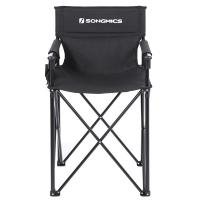 China SONGMICS Folding Camp Cot , Compact Camping Chair GCB12BK Convenient on sale