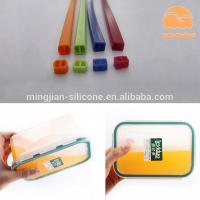 Quality Lunch Box Custom Silicone Gaskets , Molded Silicone Rubber Seals Water Resistance for sale