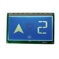 China Home Hospital Elevator Floor Display With Optional Intercom System / Emergency Light on sale