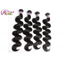 Quality Long Length Remy Peruvian Virgin Hair Extensions No Bad Smell for sale