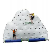 Quality Inflatable Mountain Water Toy , Inflatable Rock Climbing Wall Three Sides for sale