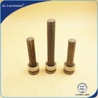 Buy BS5400 Shear Stud Connectors For Steel Structural Building / Bridge at wholesale prices