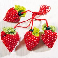 Quality Strawberry shopping bag, foldable strawberry bag for sale
