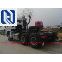 China Single Bed Euroii 10 Tires Prime Mover Truck 6x4 Engine Exhaust Brake on sale