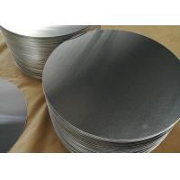 Cooking Pot Aluminium Sheet Circle Polishing Mill Finish Thickness 3mm