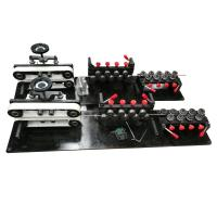 Quality Small CNC Wire Bending Machine 10mm Line With 7 Rear Straightening Pulleys for sale