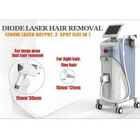Quality 1200W Soprano Ice Diode Laser Hair Removal Machine 1-10Hz ROHS TUV for sale