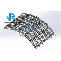 Quality Wind Resistance Roof Prefabricated Steel Structure Steel Frame Construction for sale