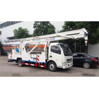 Quality DFAC LHD 22m Aerial Work Platform Truck 4X2 Drive With 24m Working Height for sale