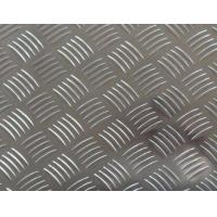 Quality Easy Processing Aluminum Tread Plate , Coil 5 Bar Chequered Embossed Aluminum Sheet Plate for sale