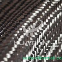 Quality electrically conductive carbon fiber fabric,200G Carbon Fiber Kevlar Mixed Fabric for sale