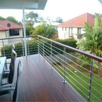 Quality Satin finished stainless steel front porch railings for sale for sale
