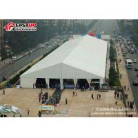Quality High Grade White Outdoor Tent , 5000 People Seater Guest Large Marquee Tent for sale