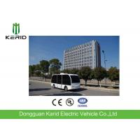 Quality Anti - Risk Solar Powered Electric Car Driverless Bus With 8-10 Passengers Loading for sale