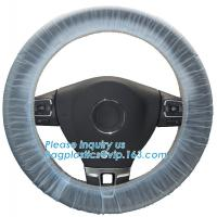 Buy cheap steering wheel 5 in 1 clean kits Disposable seat cover disposable steering wheel from wholesalers