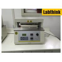 Quality Aluminium Foil Heat Seal Tester / Testing Equipment With Two Heat Sealing Jaws for sale