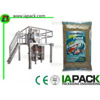 Quality Fish Food Granules Vertical Form Fill Seal Packaging Machines Linear Scales for sale