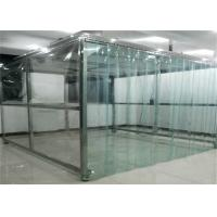 Quality Workshop Modular Purification 0.5m/S Softwall Clean Room for sale