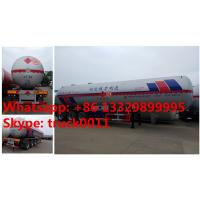 Quality HOT SALE! 2017s new CLW 59.53m3 propane gas tank semitrailer for sale, factory sale bottom price 59,530L lpg gas trailer for sale