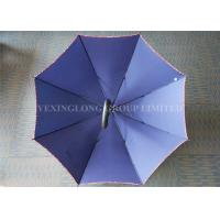 Quality Water Repellent Large Rain Umbrella , Royal Blue Corporate Branded Golf Umbrellas for sale